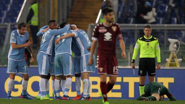 Trio ofensivo funciona, e Lazio vence Torino no Olímpico