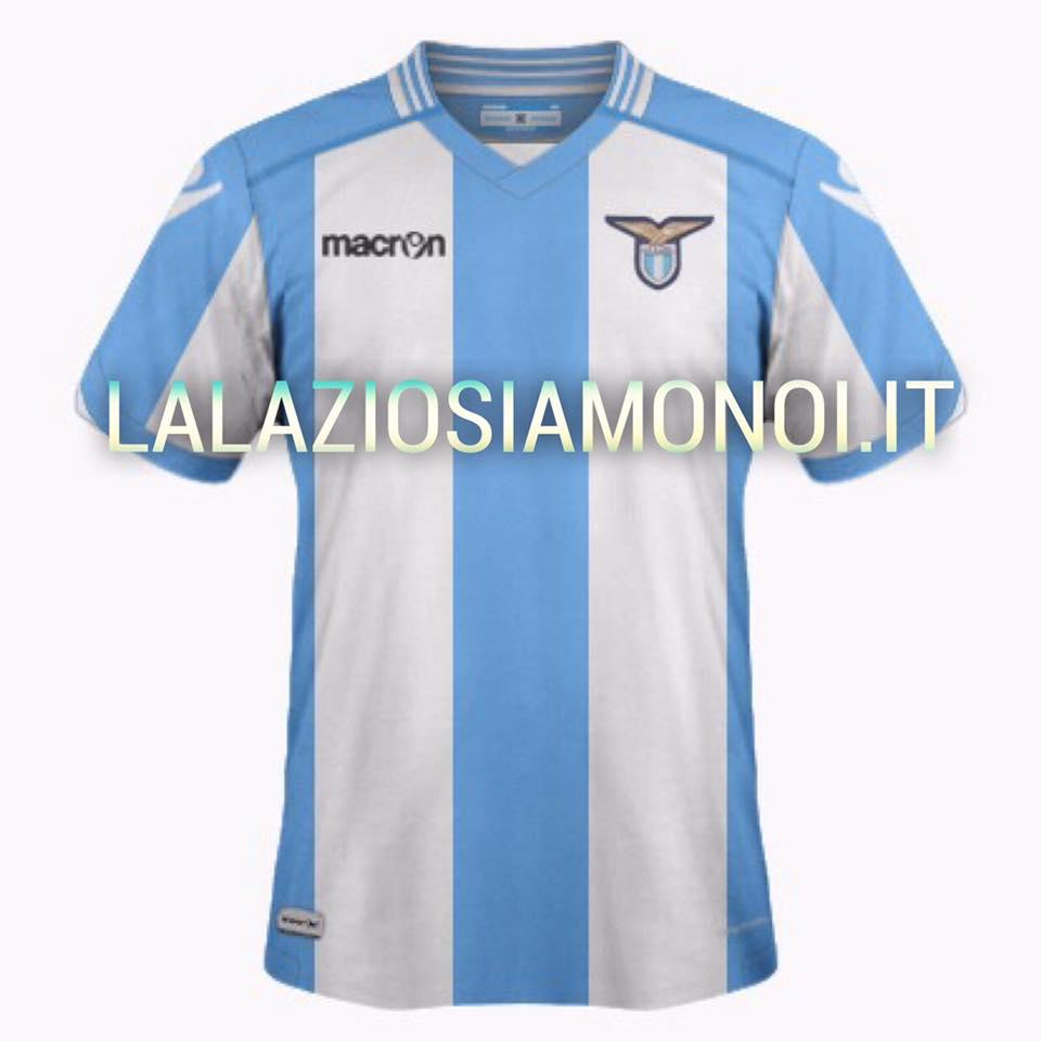 Veja fotos do suposto uniforme da Lazio para temporada 17/18