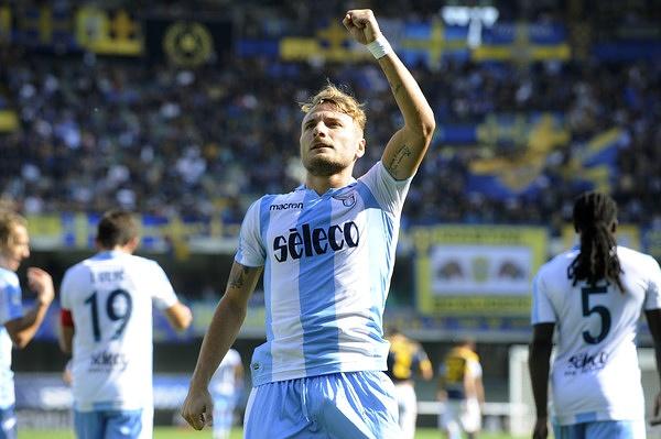 Com dois de Immobile, Lazio vence o Verona fora de casa