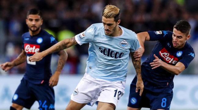 Lazio sofre com lesões e improvisações, e acaba sendo superada pelo Napoli