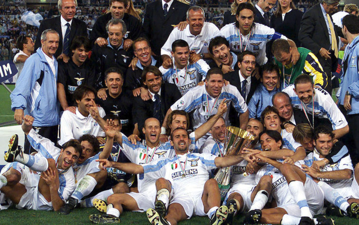 Qual o jogador com mais títulos pela Lazio?