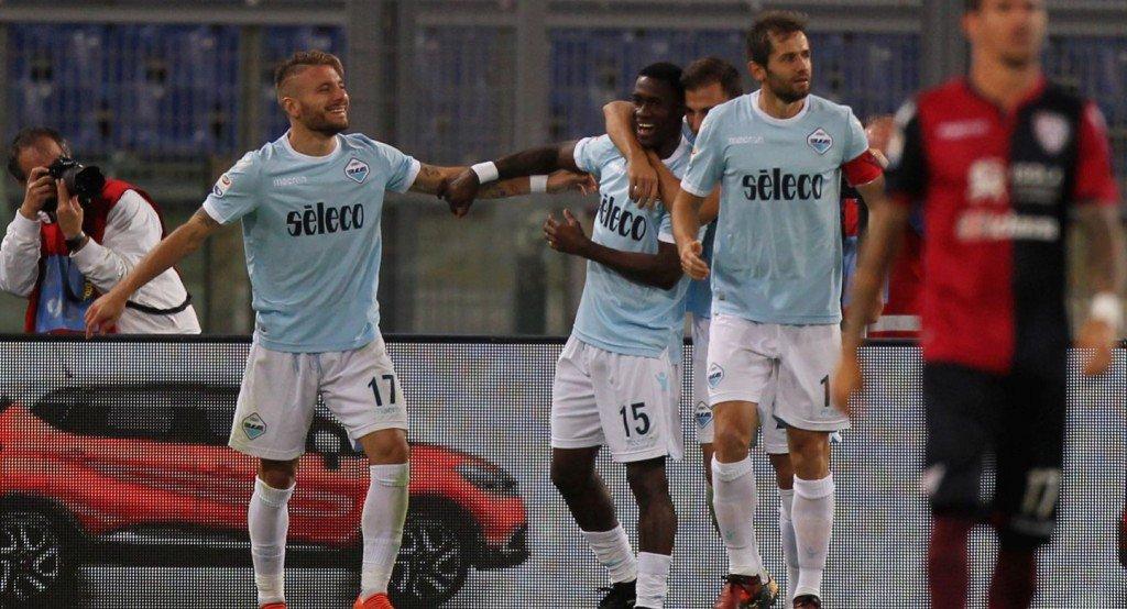 Com dois de Immobile, Lazio bate Cagliari