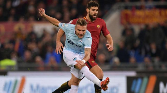 Lazio joga mal e é derrotada no Derby della Capitale